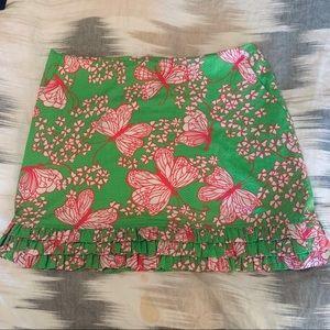 Lilly Ruffle Hem Skirt